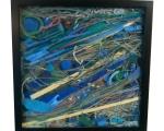 """Sea Grass 13""""x13"""" 2011"""
